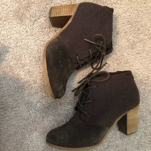 TOMS comfy ankle bootie